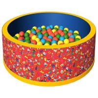 Сухой бассейн 500 шаров (Красный)