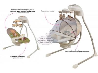 Электрокачели Питусо (мишка)