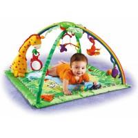 Детский коврик «Тропический лес» (с мобилем и подсветкой)