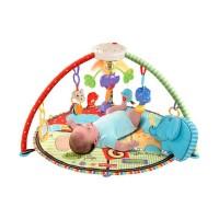 Детский коврик Зоопарк (с мобилем и подсветкой)