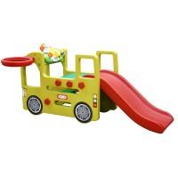 Игровой центр - Автобус с горкой Happy Box